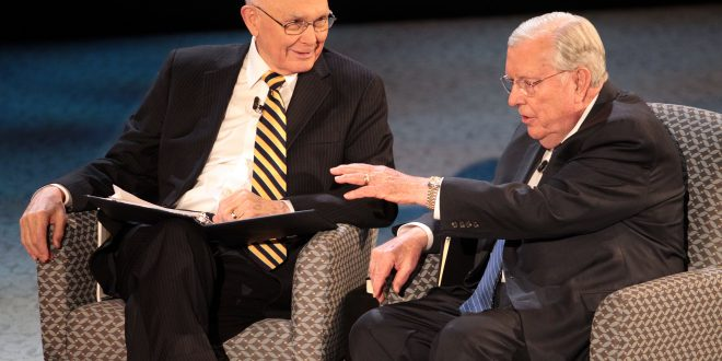 Highlights from Elder Oaks and Elder Ballard's Face to Face with Young Single Adults