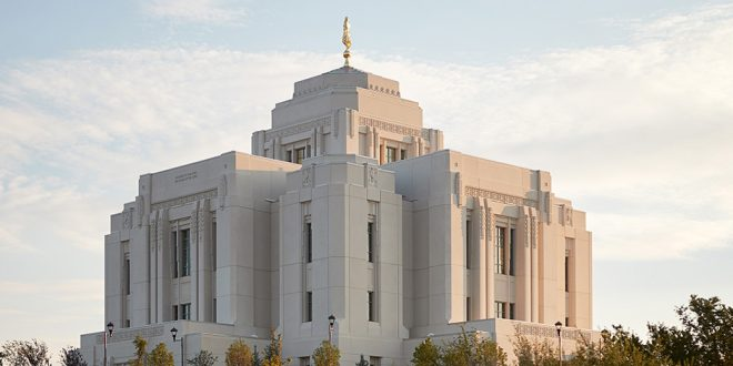 LDS Meridian Idaho Temple Is Dedicated