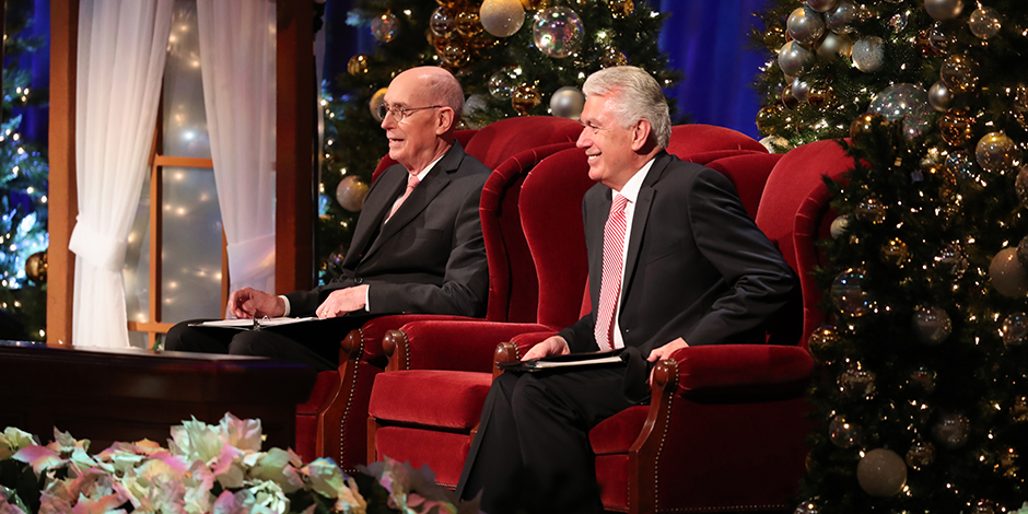 Lds Christmas Devotional 2020 Christ's Birth Celebrated at First Presidency's Christmas