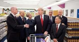 U.S. President Donald Trump Visits LDS Welfare Square