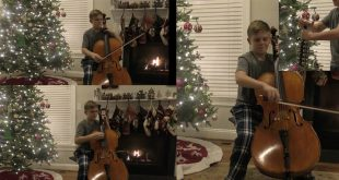 "You've Got to See This LDS Teen's ""Christmas Cello Countdown"""