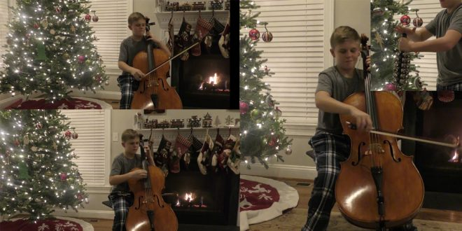 """You've Got to See This LDS Teen's """"Christmas Cello Countdown"""""""
