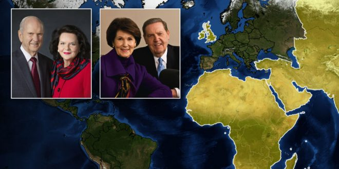 President Nelson, Elder Holland Announce Multi-Continent Tour