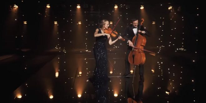 "The Piano Guys Release Romantic ""Rewrite the Stars"" Cover"