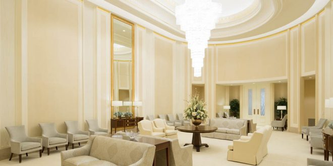 Here's Your First Look Inside the Renovated Jordan River Temple