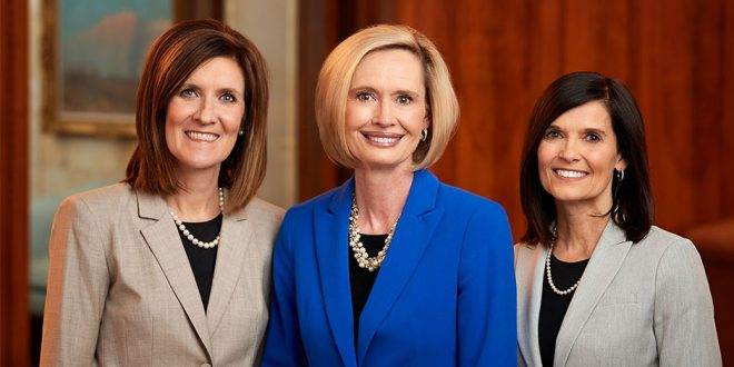 New Young Women Presidency Announced at April 2018 General Conference