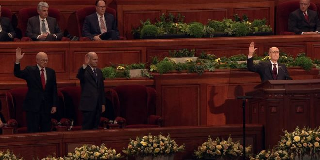 Two New Apostles Announced, Solemn Assembly Held at General Conference