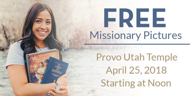 Check Out This FREE Missionary & Family Photos Event