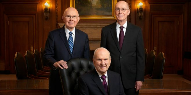 First Presidency to Give Live Video Statement Alongside NAACP