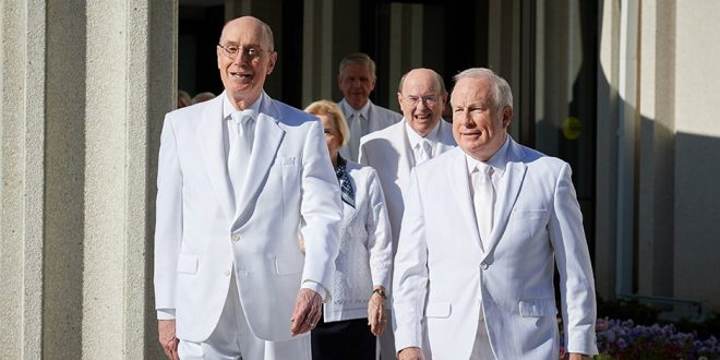 President Eyring Rededicated Jordan River Utah Temple