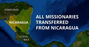 158 Remaining LDS Missionaries Transferred Out of Nicaragua