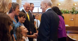 President Nelson Delivers Apostolic Blessing to Saints in Alberta