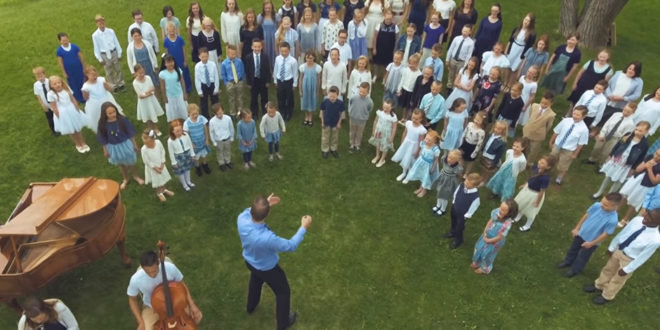 "Adorable (and Talented!) Children's Choir Sings ""My Heavenly Father Loves Me"""