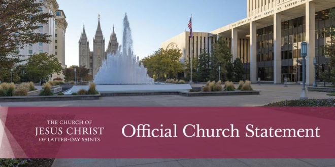 LDS Church Responds to Bishop's Hunger Strike & Youth Interviews