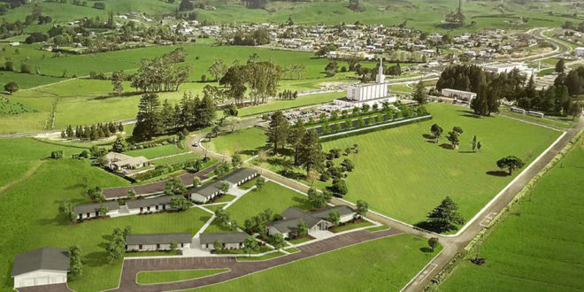 New Zealand LDS Temple Closes for Renovation, Renderings Released