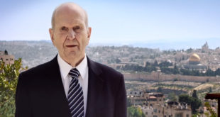President Nelson Shares Powerful Testimony of Christ from the Holy Land