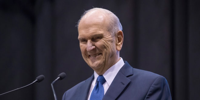 President Nelson Encourages Hurricane Survivors in Caribbean