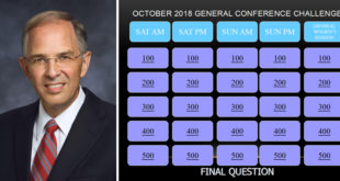 Elder Neil L. Andersen Shares His Family's General Conference Review Game
