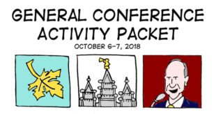 FREE General Conference Activity Coloring + Activity Packets! (October 2018)