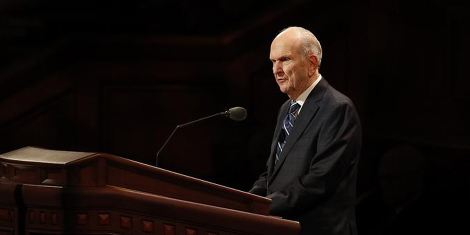 "President Nelson Stresses Importance of Jesus Christ in Church Name: ""It Is His Church"""