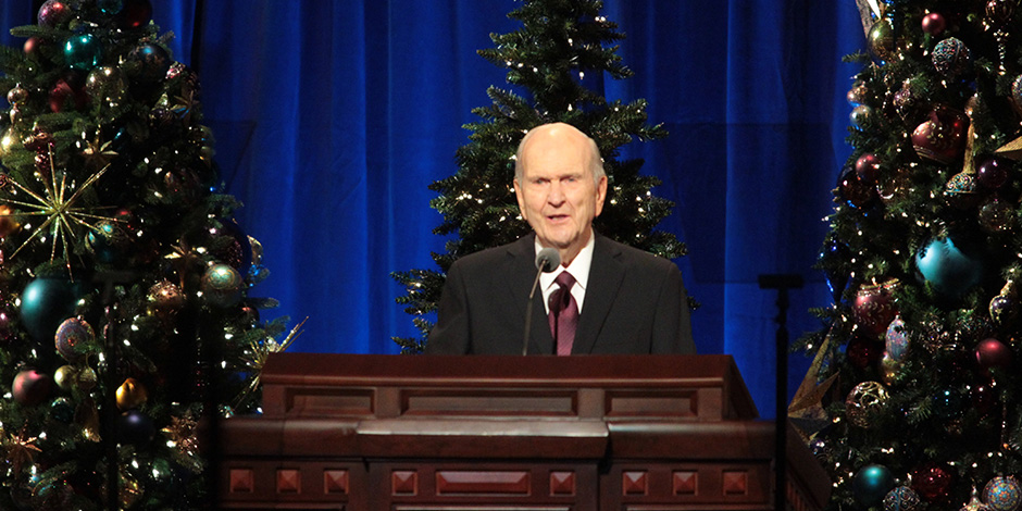 Lds Christmas Devotional 2020 Gifts From the Savior Focus of First Presidency's Christmas