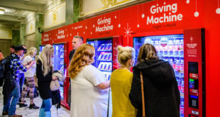 Giving Machines Surpass $1 Million in Donations