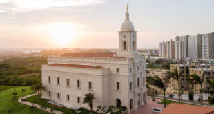 President Oaks Dedicates Barranquilla Colombia Temple