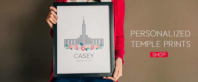 Personalized Temple Prints