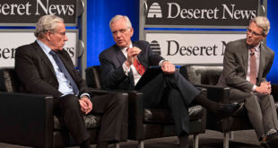 Elder Christofferson Joins Historic Discussion on Watergate Scandal