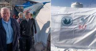 Elder Bednar Tours Iraqi Refugee Camp