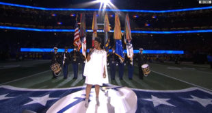 Watch Gladys Knight's National Anthem at Super Bowl LIII