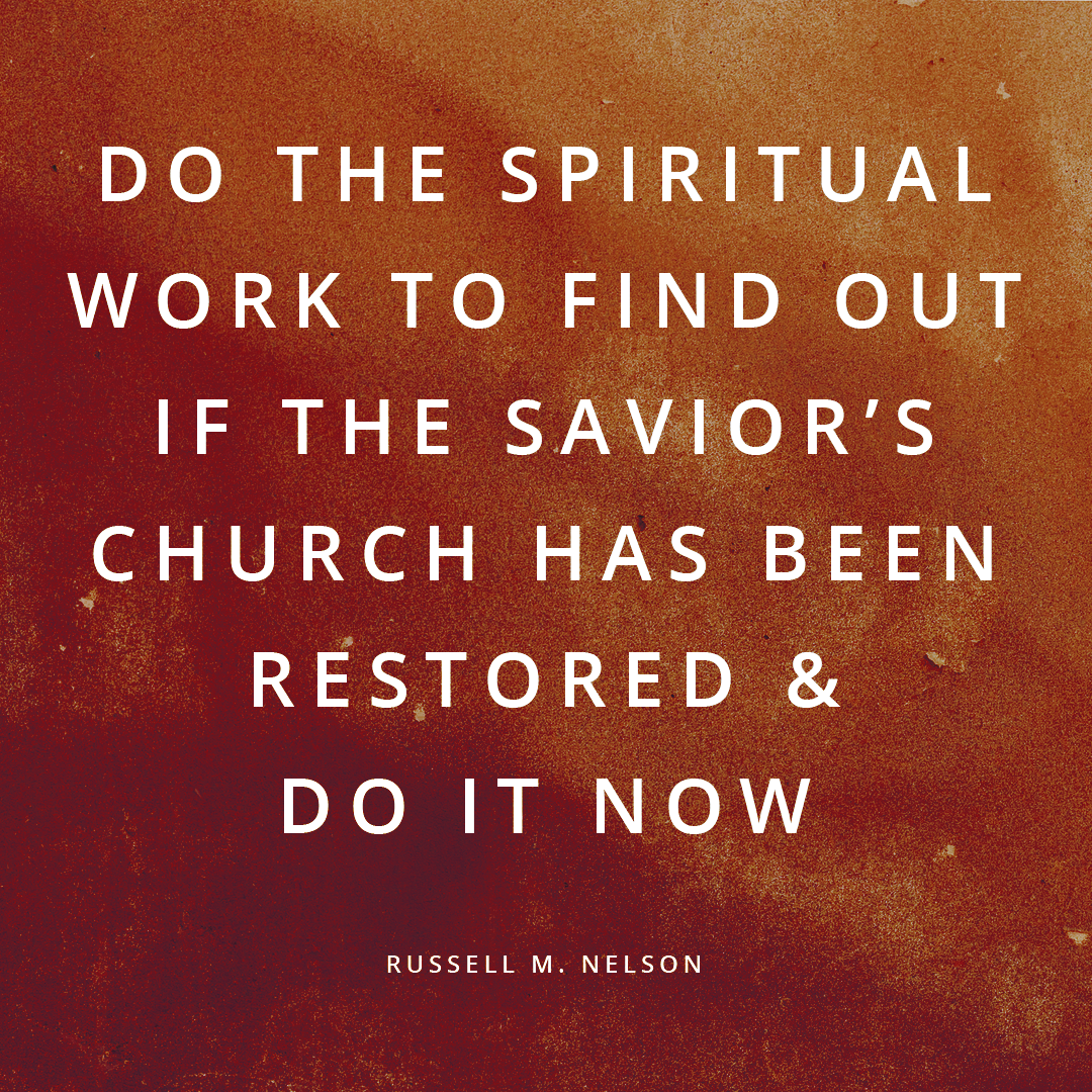 Here's One Invitation to Act from Every General Conference Talk - Russell M. Nelson