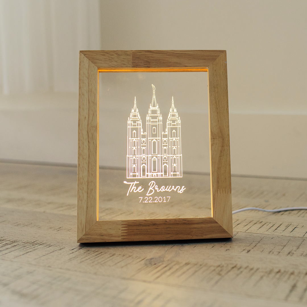Illuminated Picture Frames