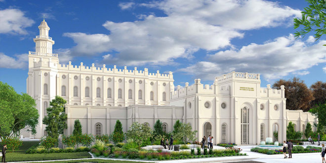 Here's the Renovation Plans for the St. George Temple