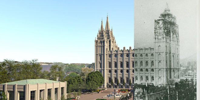 7 Fascinating Then & Now Comparisons of Latter-day Saint Temples
