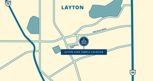 Layton Utah Temple Site Announced