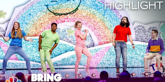 "Watch JK! Studios' First Sketch on NBC's ""Bring the Funny"""