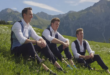 """Gentlemen Trio"" Group, GENTRI, Release New Music Video in the Heart of the Swiss Alps"