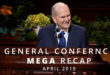 Here's Your April 2019 General Conference Mega Recap