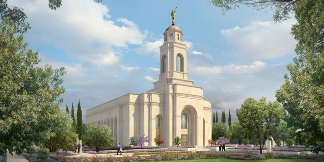 Rendering Released for the Feather River California Temple