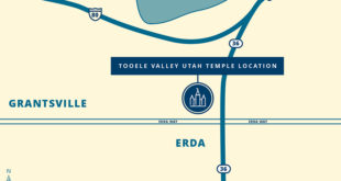 Tooele Valley Utah Temple Site Announced