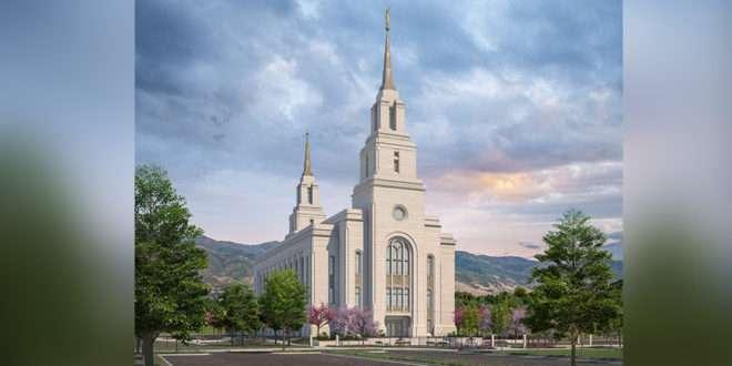 Rendering of the Layton Utah Temple Released