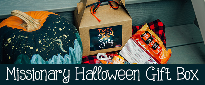 Missionary Halloween Gift Box