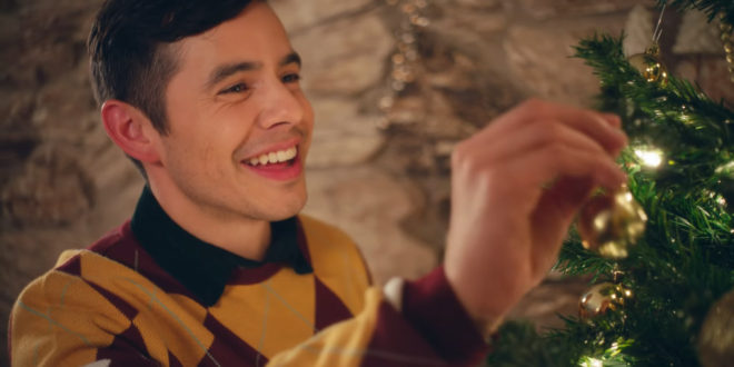 "There's a Special Surprise in David Archuleta's ""Merry Christmas, Happy Holidays"" Music Video"