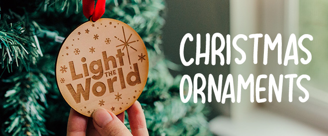 LDS Christmas Ornaments