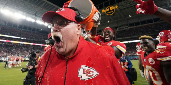 10 Fun Facts About Kansas City Chiefs Head Coach, Super Bowl Champion, and Latter-Day Saint, Andy Reid