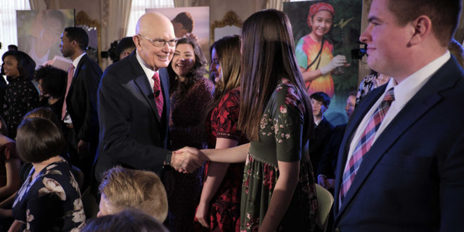 President and Sister Oaks Host Face to Face Event with Youth