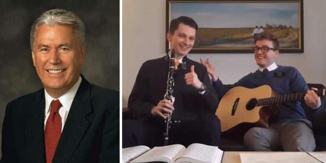Elder Uchtdorf Shares Heartwarming Video of Missionary Grandson