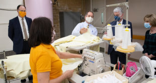 Church's Sacred Clothing Facilities Help Produce Masks & Gowns