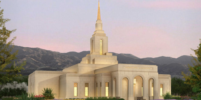 Exterior Rendering Released for Mendoza Argentina Temple
